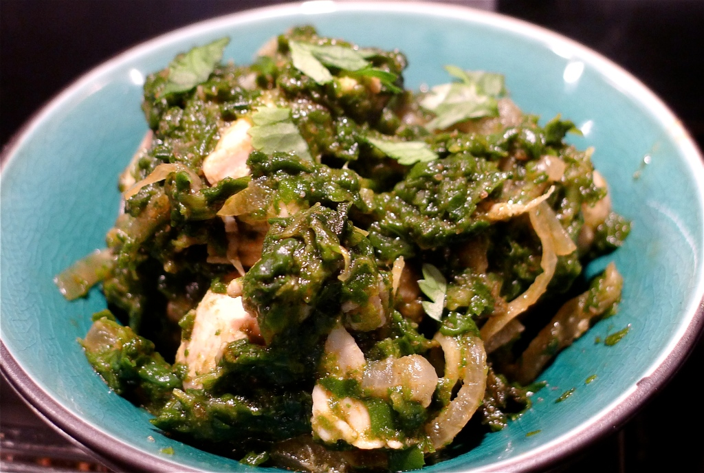 Saag Chicken 3