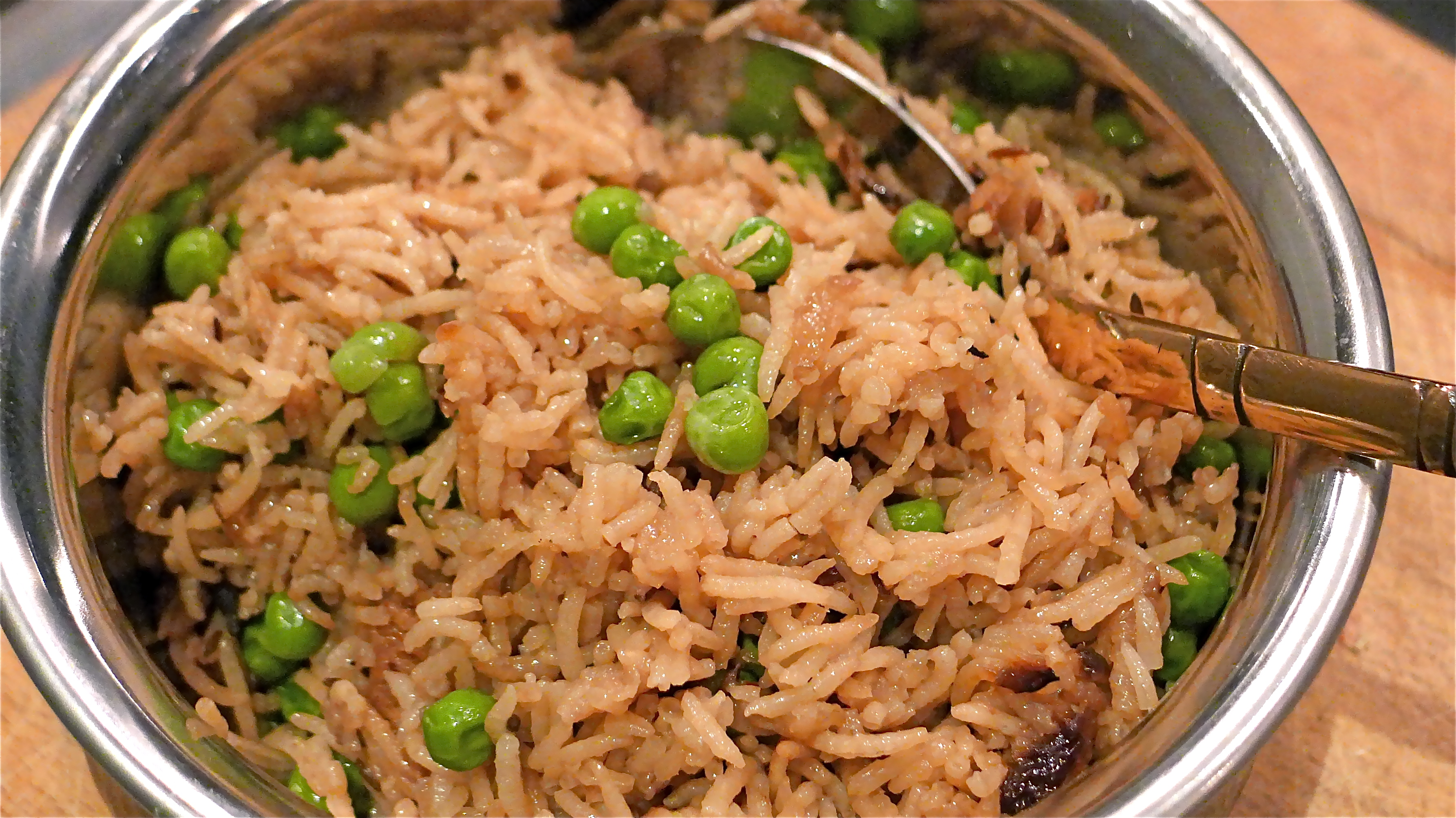 muttar pilau cracking curries