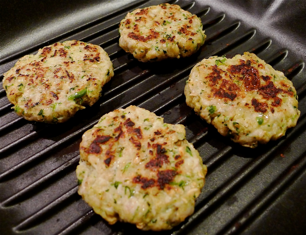 Chicken and Coriander Kebabs